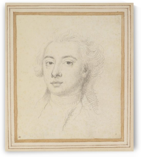 Portrait of Francisco Algarotti (1712-1764) by Jonathan Richardson