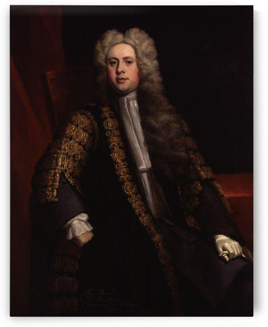 Sir William Wyndham, 3rd by Jonathan Richardson