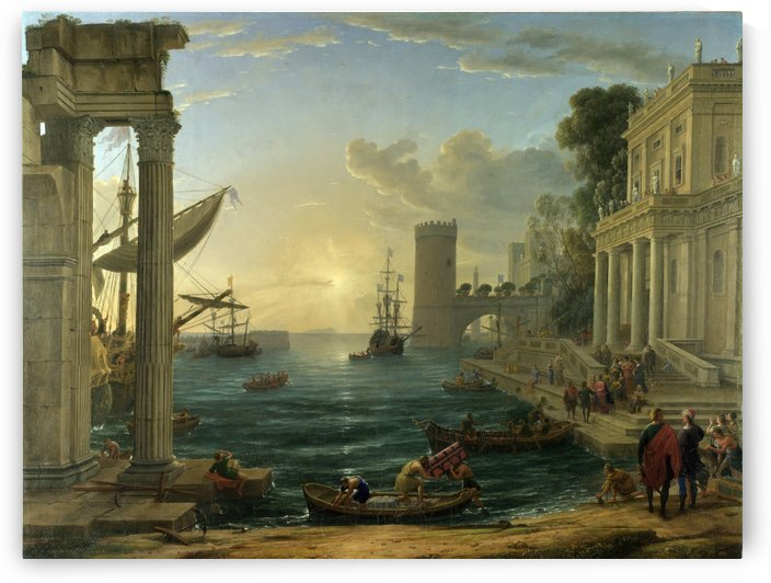 Nicolas poussin and Painters by Claude Lorrain