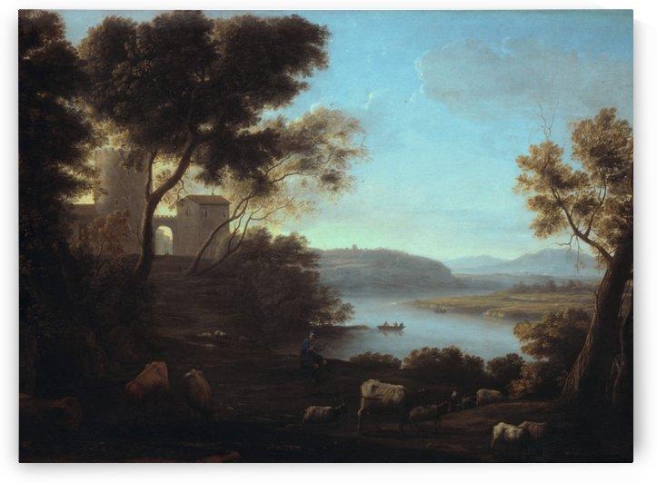 The Roman Campagna by Claude Lorrain