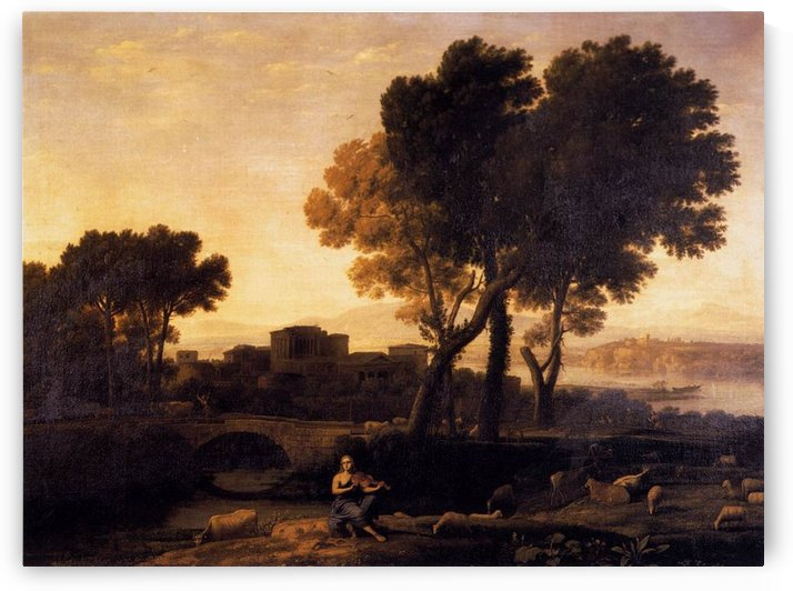 Apollo Guarding the Herds of Admetus by Claude Lorrain