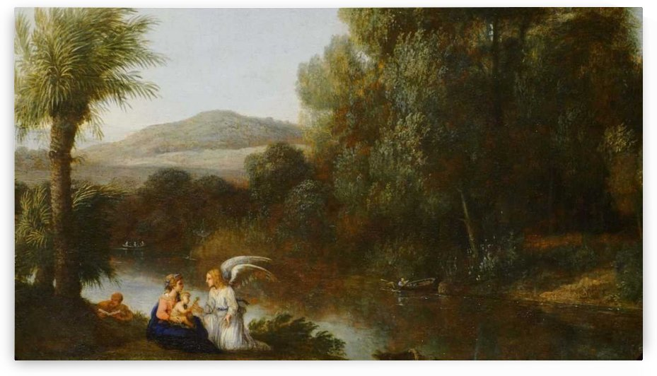 Rest on the Flight into Egypt by Claude Lorrain