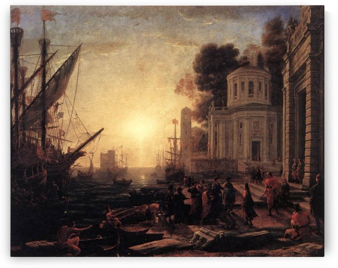 Carthage and The romans by Claude Lorrain
