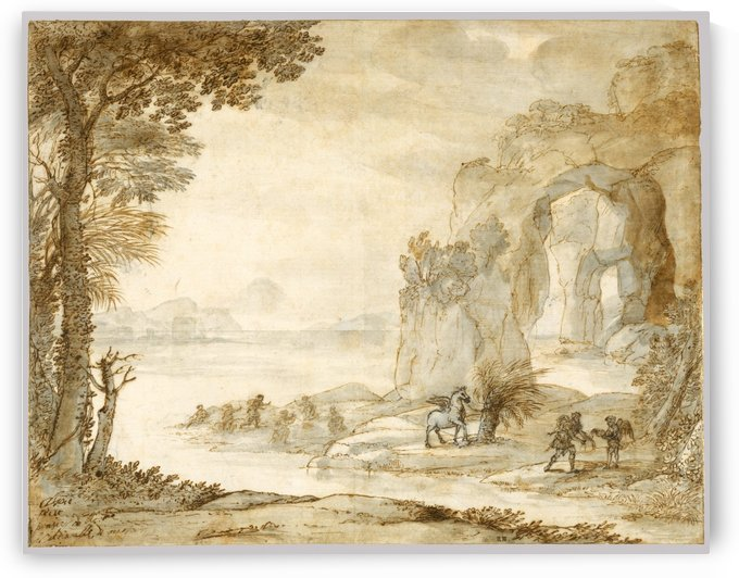 Perseus and the Origin of Coral by Claude Lorrain