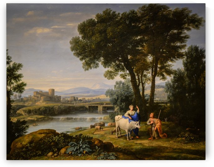 Juno Confiding to the Care of Argus by Claude Lorrain