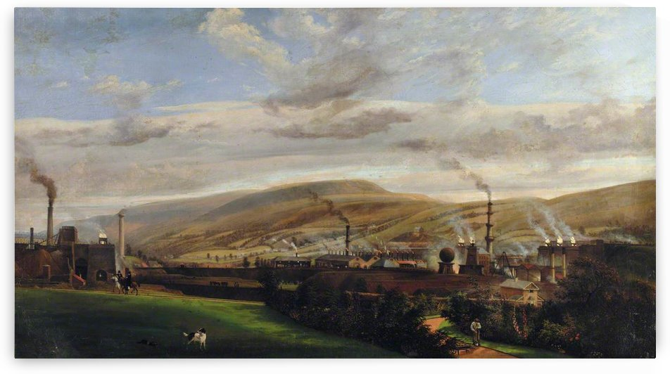 South Wales Industrial Landscape by Penry Williams