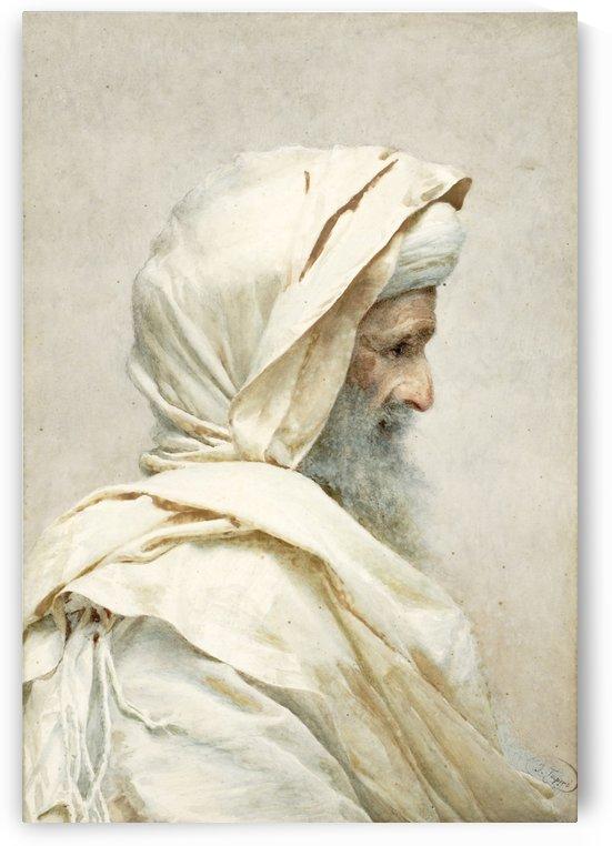 A holy man by Josep Tapiro Baro