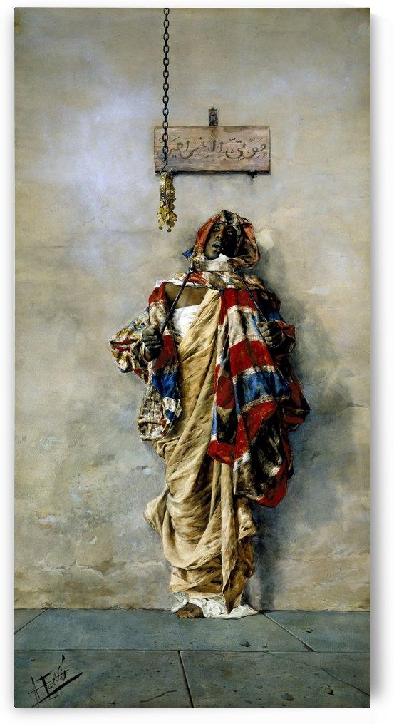 A Moroccan man by Josep Tapiro Baro