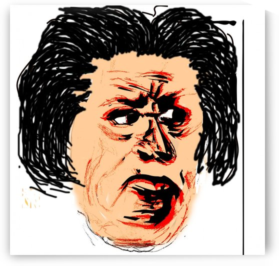 Expressed Face by Gloria Racine