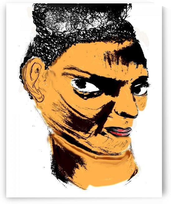 Facial Expression  by Gloria Racine