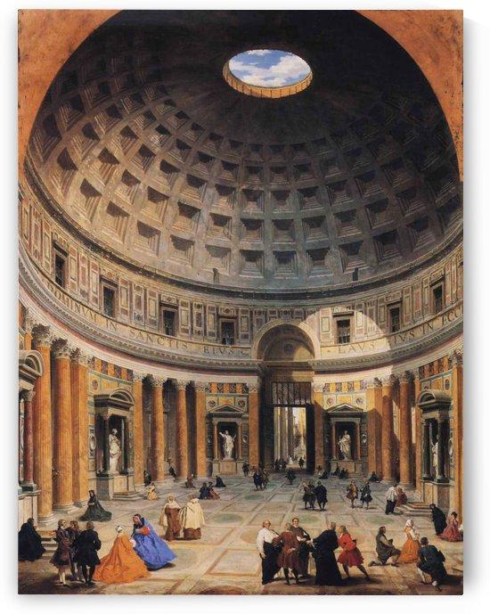 The Parthenon by Giovanni Paolo Panini