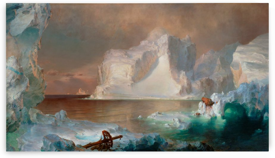 The Icebergs by Frederic Edwin Church