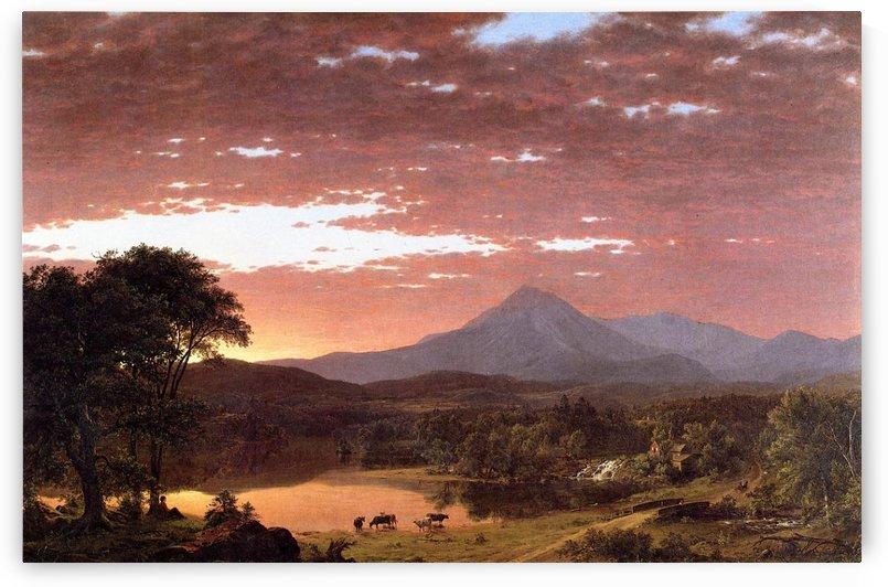 Mount Ktaadn aka Mount Katahdin 1853 by Frederic Edwin Church