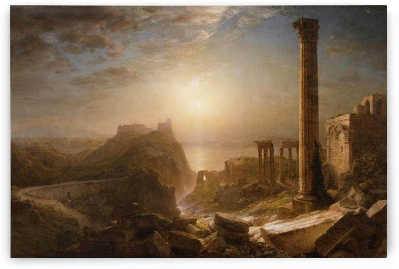 1873 Syria by the Sea by Frederic Edwin Church