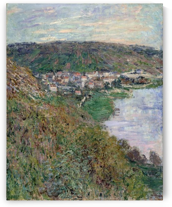 Monet - View of Vetheuil by
