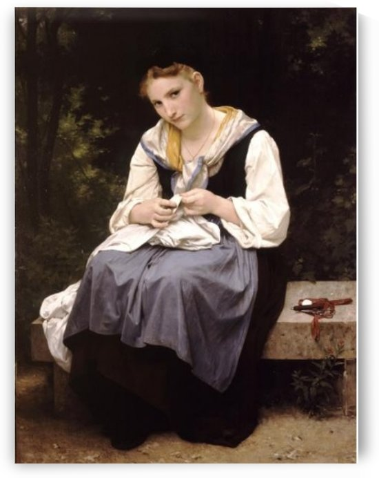 The young worker by William-Adolphe Bouguereau