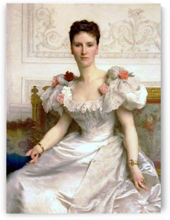 Madame la Comtesse de Cambaceres by William-Adolphe Bouguereau