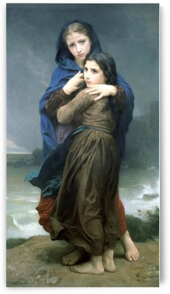 Far from home by William-Adolphe Bouguereau