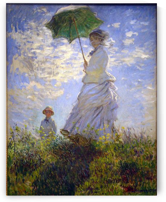 Monet Umbrella by