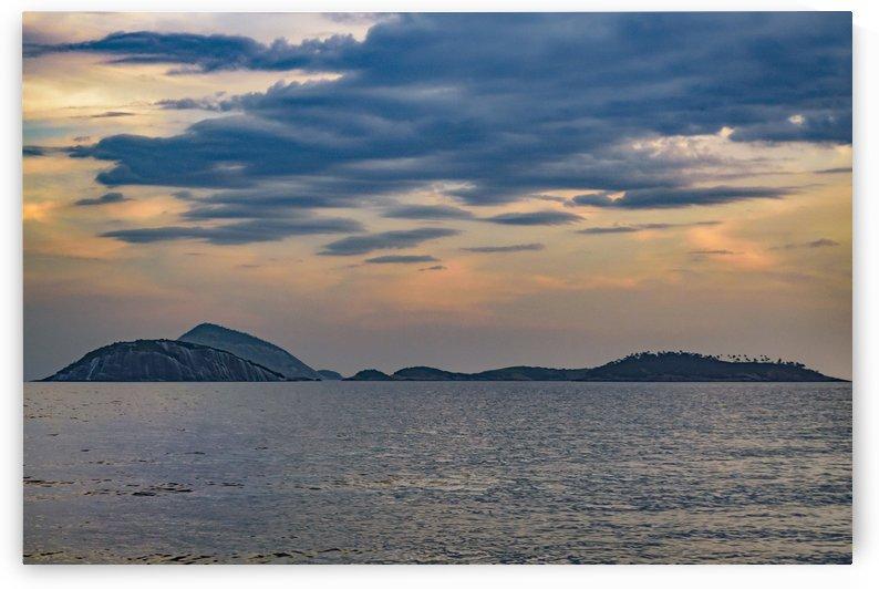 Ipanema at Sunset Rio de Janeiro Brazil3 by Daniel Ferreia Leites Ciccarino