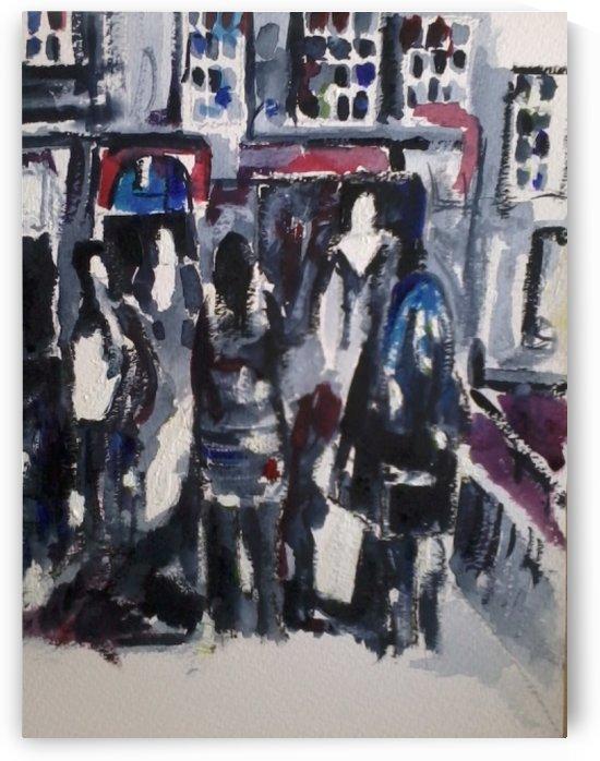 Friends in York by Adrian Butt