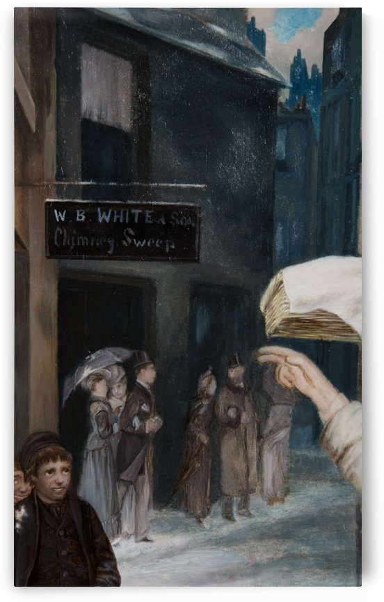 The Chimney Sweep Store by Augustus Edwin Mulready