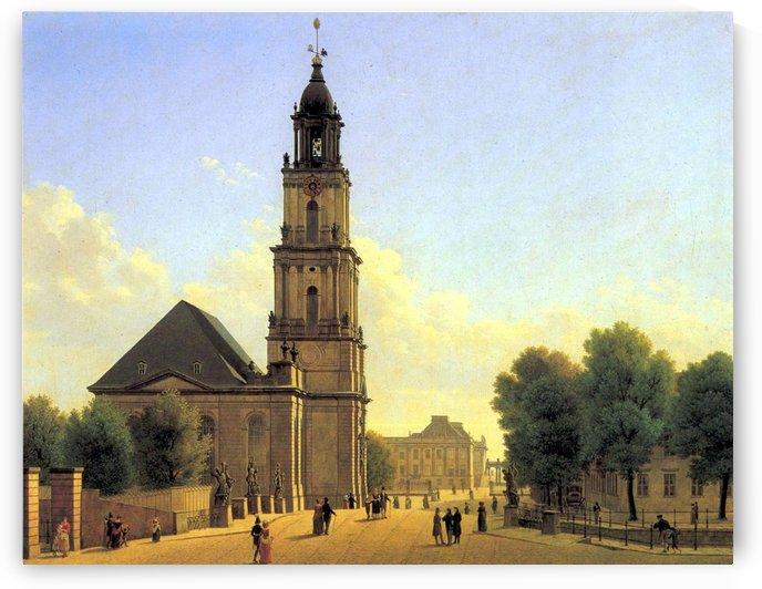 Garnisonkirche Potsdam 1827 by Carl Hasenpflug