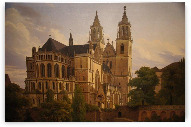 Magdeburger Dom 1828 by Carl Hasenpflug