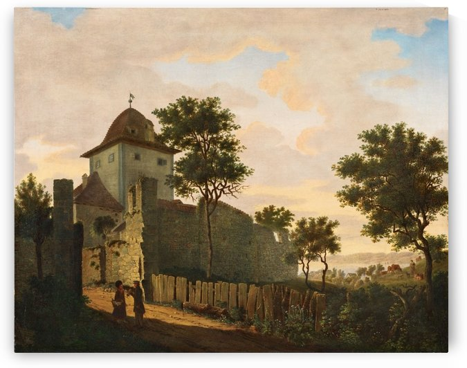 Stadtturm in Uberlingen by Carl Hasenpflug