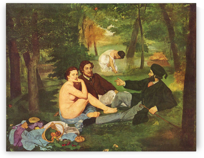 Morning Break by Manet by Manet