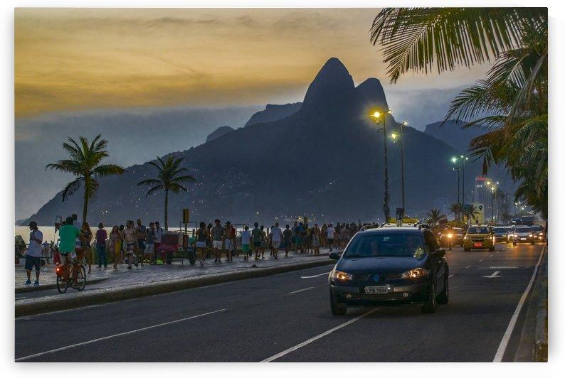 Ipanema Sidewalk Rio de Janeiro Brazil02 by Daniel Ferreia Leites Ciccarino