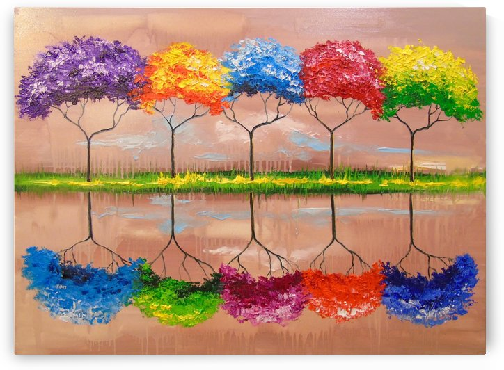 Every tree by its smell by Olha Darchuk