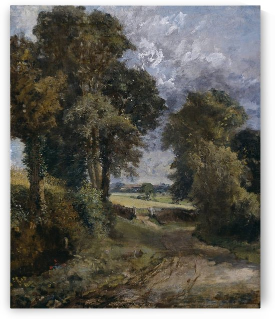 A Cornfield in the distance by John Constable
