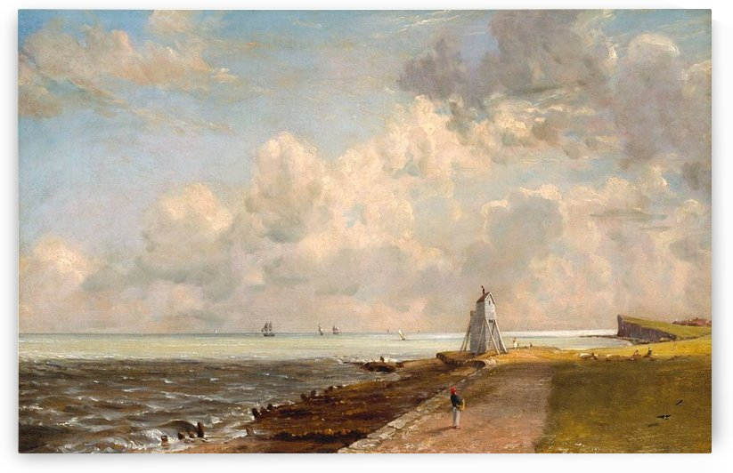 Harwich lighthouse by John Constable