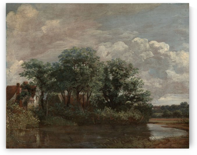Willy Lotts House by John Constable