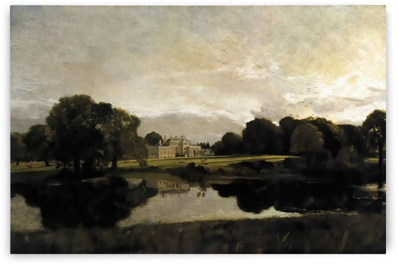 Malvern Hall in Warwickshire by John Constable