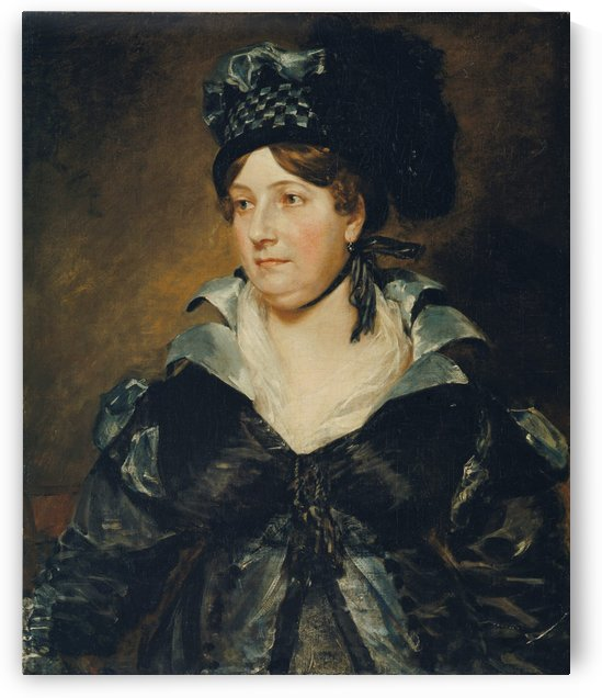 Mrs. James Pulham by John Constable