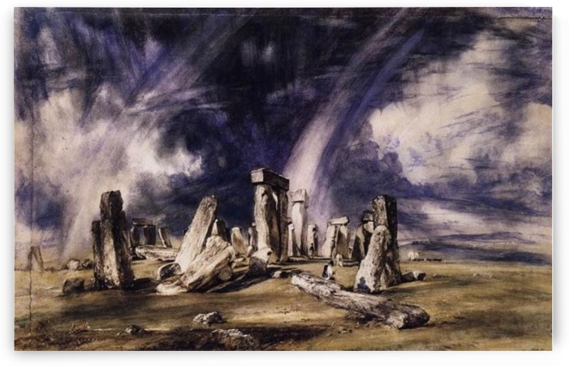 Stonehdge by John Constable
