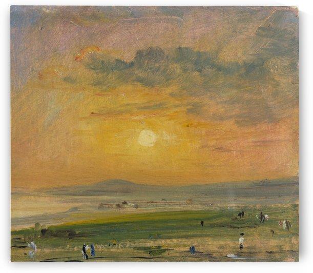 Coast Scene at Brighton by John Constable