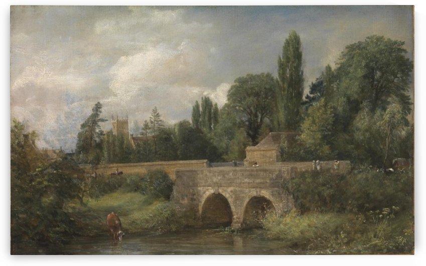 Gillingham Bridge, Dorset by John Constable