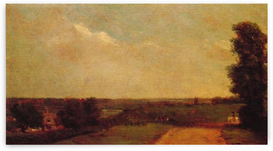 View at Dedham by John Constable