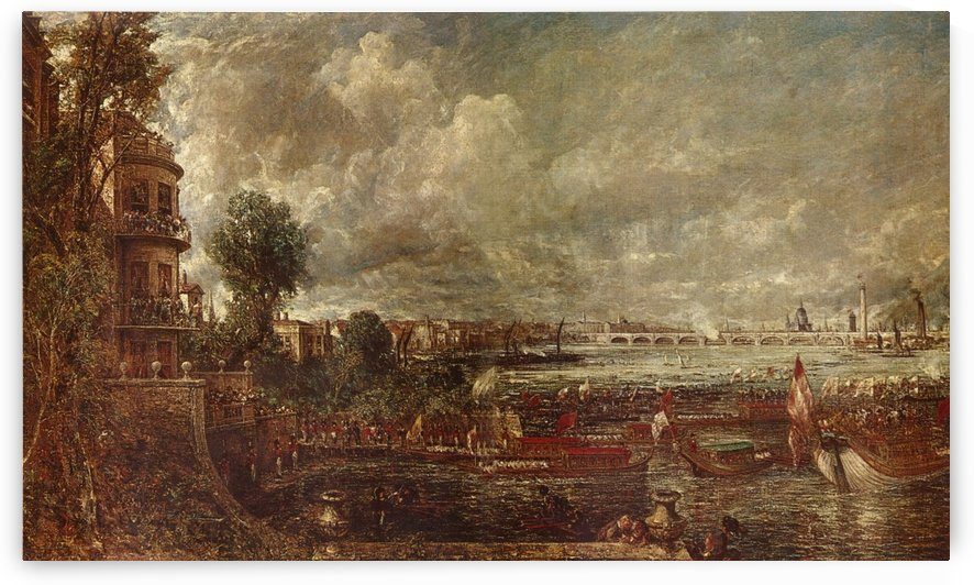 Landscape of a city by John Constable