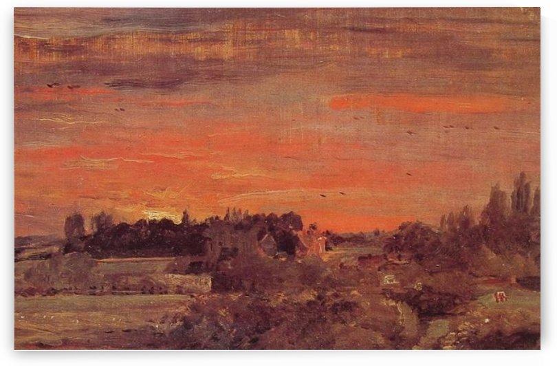 East Berglot Rectory by John Constable
