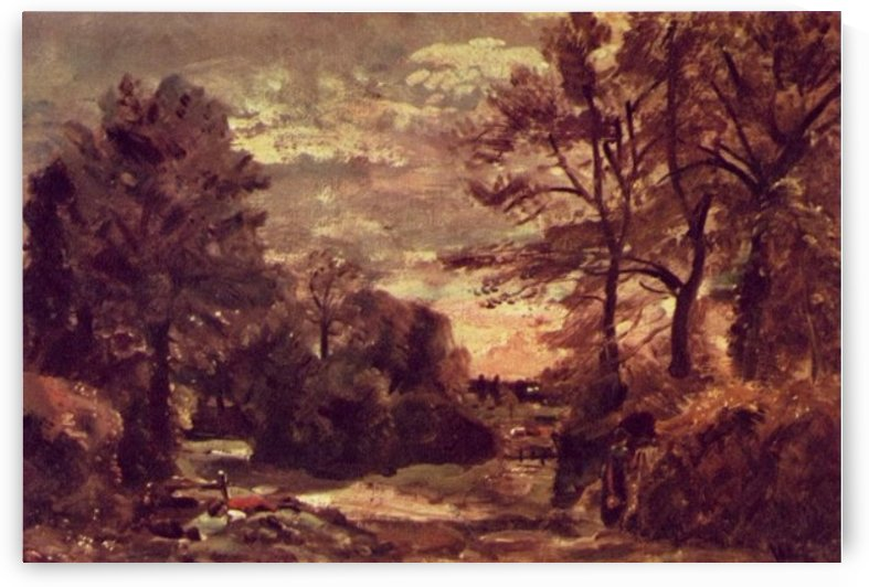 Country Road 1926 by John Constable