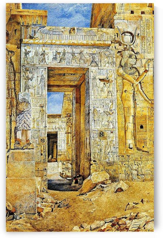 An Egiptian gate by Henry Roderick Newman