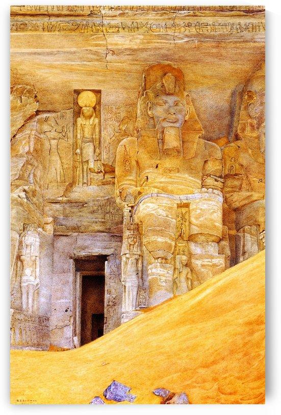 Abu Simbel by Henry Roderick Newman