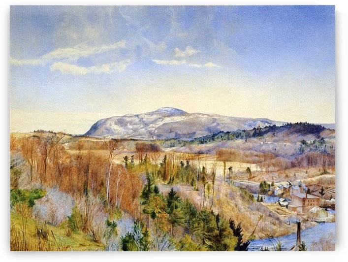 Mt. Everett from Monument Mountain by Henry Roderick Newman