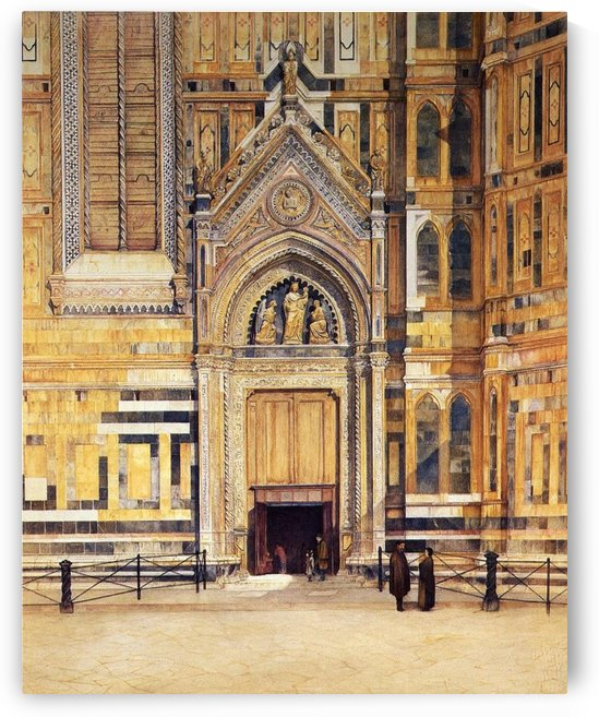 The South Door of the Duomo 1881 by Henry Roderick Newman