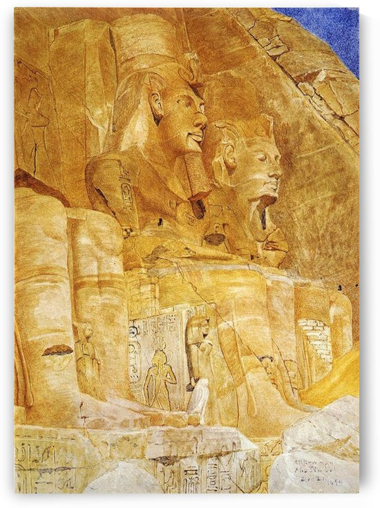 Two Pharaons by Henry Roderick Newman