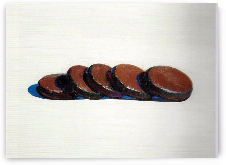 Five cookies by Henry Roderick Newman